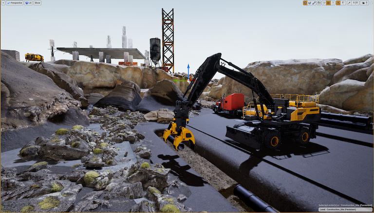 Excavator-render